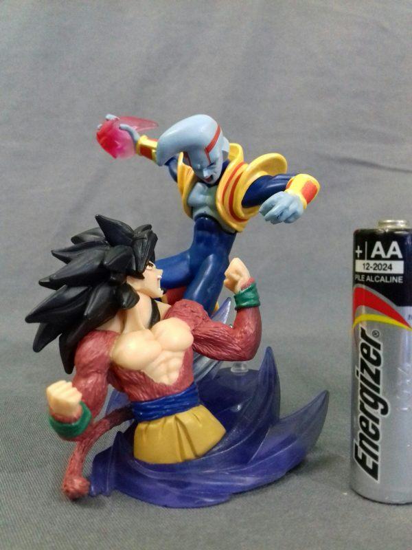 Goku ssj 4 vs Baby Vegeta
