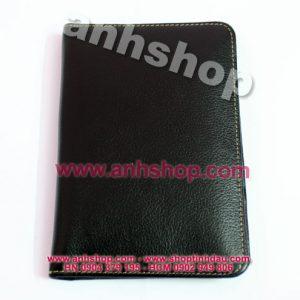 Ví da bò bọc Hộ chiếu - Passport Leather Holder
